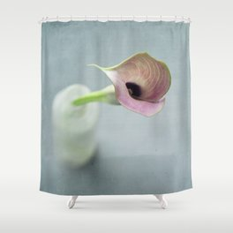 Eavesdrop Shower Curtain