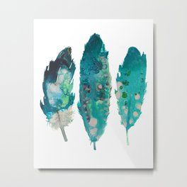 Boho Feathers print, Printable art, Printable Feathers, Wall art, Woodland Printable, Kids Room Art, Metal Print