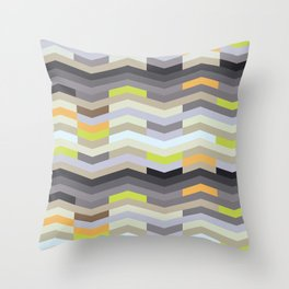Modern Chevron - Fresh Green Throw Pillow