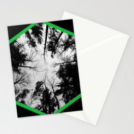 Grey forest Stationery Cards