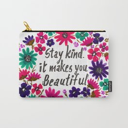 STAY KIND Carry-All Pouch