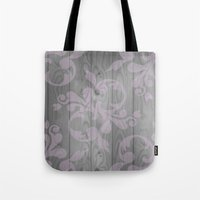 victorian Tote Bags featuring Victorian by Mister Abigail