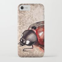 ladybug iPhone & iPod Cases featuring Ladybug by Werk of Art