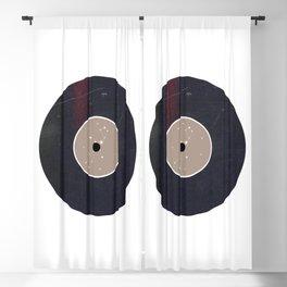 Vinyl Record Star Sign Art | Virgo Blackout Curtain