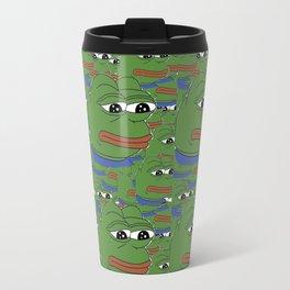 Pepe, the frog Travel Mug