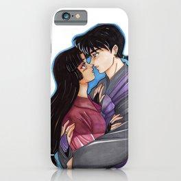 Sango and Miroku iPhone Case