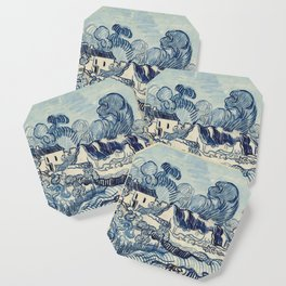 "Vincent van Gogh ""Landscape with Houses"" Coaster"
