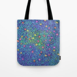 Starry Starry Night Neurons Tote Bag