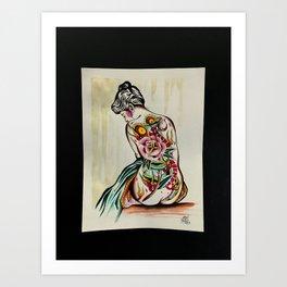 Arttattoo Art Print