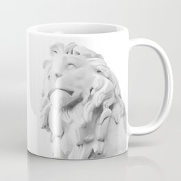 Stone Lion - Black&White Coffee Mug