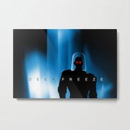 Deep Freeze Metal Print