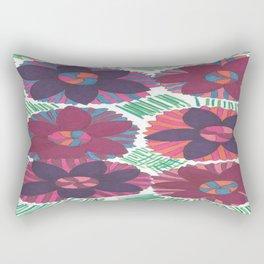 Tropical Blossoms Rectangular Pillow