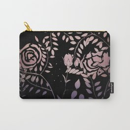 Gradient Roses Carry-All Pouch