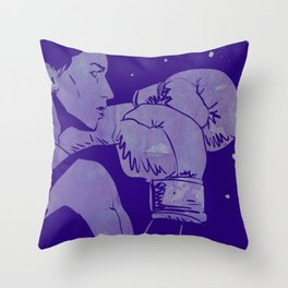 Boxing Club 2 Throw Pillow