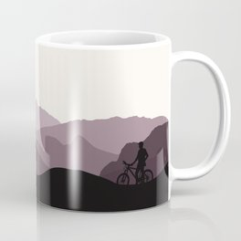 MTB Mountains Coffee Mug