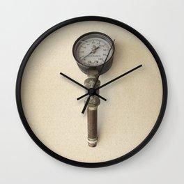 The Forgotten Workshop series- Pressure Gauge Wall Clock