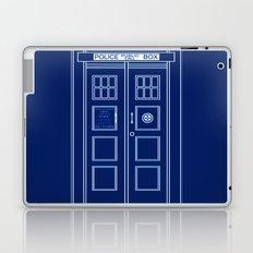 TARDIS Front Door - Doctor Who Laptop & iPad Skin