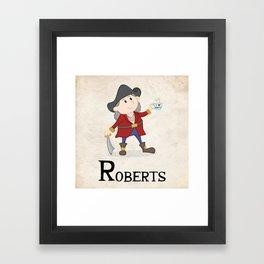 Bartholomew Roberts Framed Art Print