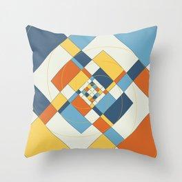 Fibonacci Experiment V Throw Pillow