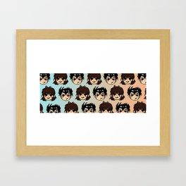 YYH: Sunset Kiss Framed Art Print