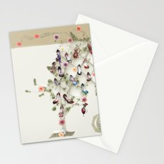 Spring shoe tree Stationery Cards