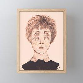 Mrs Foureyes Framed Mini Art Print