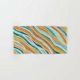 Tulum Summer Abstract Hand & Bath Towel