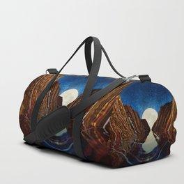 Moon Reflection Duffle Bag