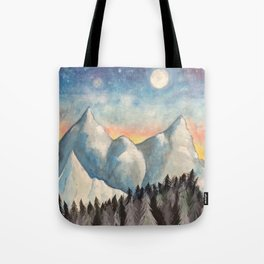 With How Sad Steps, Oh Moon Tote Bag