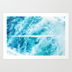 undreamed shores Art Print