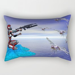 Alien Planet Rectangular Pillow