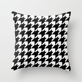Houndstooth Throw Pillow