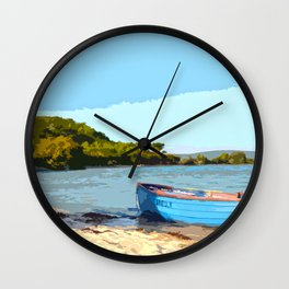 Isle of Scilly - Boat Wall Clock