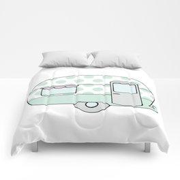 Polka Dot Caravan V5 Comforters