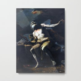 Mattia Preti Saint Paul the Hermit Metal Print