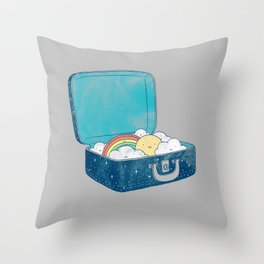 Always bring your own sunshine Throw Pillow
