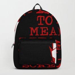 Heavy Metal Screaming Backpack