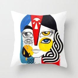 Multiplicidade 1 Throw Pillow