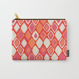 Almas diamond ikat fire Carry-All Pouch