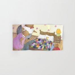 Goldilocks Caught Sleeping Hand & Bath Towel