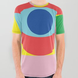 Abstract Evolution All Over Graphic Tee