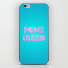 Meme queen iPhone Skin