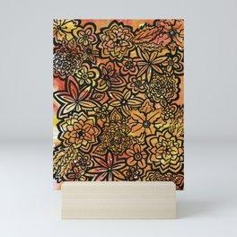Wildfire Flowers Mini Art Print