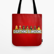 Everything Is Awesome Tote Bag