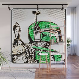 The Fett Wall Mural
