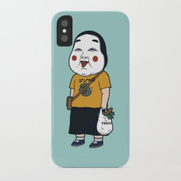 Joyful Girl iPhone Case