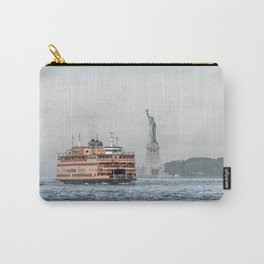 Staten Island Ferry & Statue of Liberty Carry-All Pouch