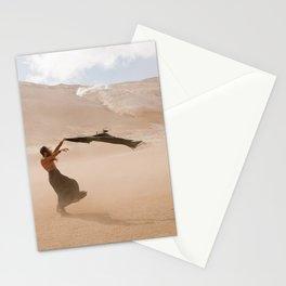 desert dust storm Stationery Cards