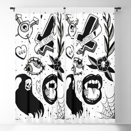 Witchy Flash Page Blackout Curtain