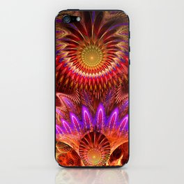 Devious ways, colourful pattern abstract iPhone Skin